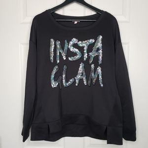 INSTAGLAM PULLOVER SWEATER - JUICY COUTURE